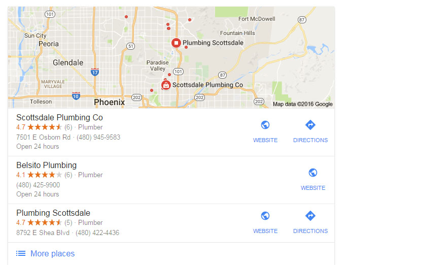 Local SEO Listing In Scottsdale Google My Business