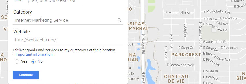 Claiming Your Google Maps Listing